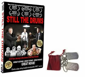 BEST-FILM-WINNER-HELPING-VETERANS-amp-SOLDIERS-034-STILL-THE-DRUMS-034-DVD-w-DOG-TAGS