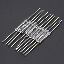 10Pcs 14mm Glass Magnetic Induction Reed Switch MagSwitch Normally Open NO