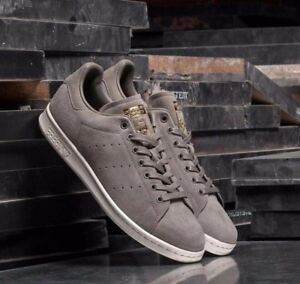cheap for discount f3c51 aa425 Image is loading ADIDAS-STAN-SMITH-SHOES-MENS-ORIGINALS-SUPERSTAR-GRAY-