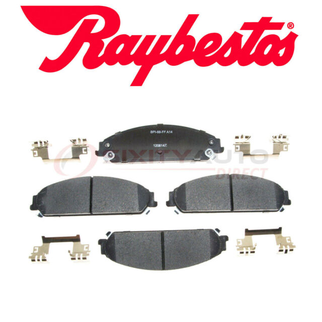Raybestos Reliant Ceramic Disc Brake Pads For 2015-2017