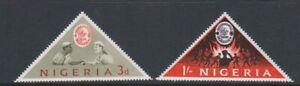 Nigeria - 1963, World Scout Jamboree, Marathon set - MNH - SG 133/4