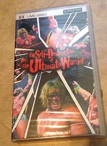 The Self-Destruction of Ultimate Warrior WWE PSP UMD Video NEW Factory Sealed