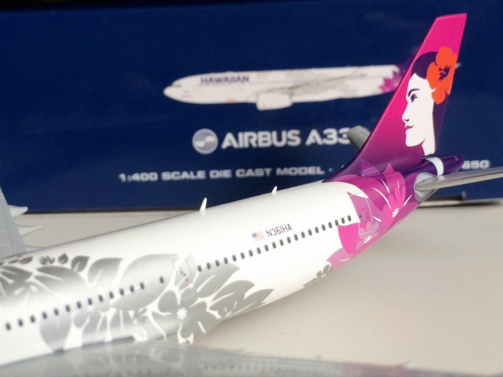 Gemini Jets 1 1 1 400 Hawaiian Airlines Airbus A330-200 New Livery AVIATIONMODELSHOP 963612