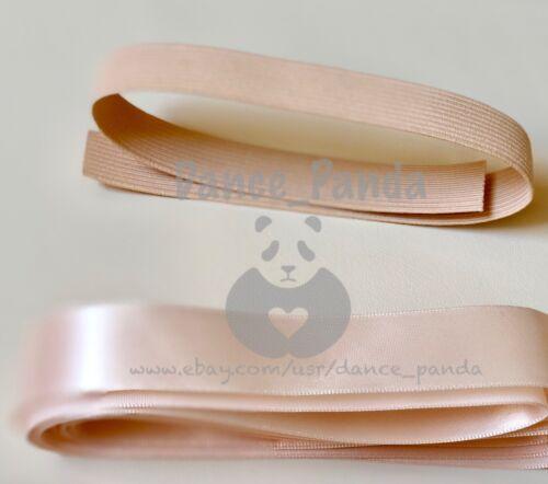 Bunheads® Rehearsal Ribbon /& Elastic cut for Ballet Pointe Shoes