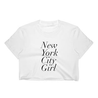 BOUJEE NEW YORK CROP TOP T SHIRT WOMENS FUNNY HIPSTER SLOGAN LADIES CUTE SUMMER