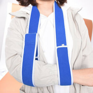 Medical-Arm-Support-Strap-Shoulder-Forearm-Sling-Eblow-Brace-Immobiliser-Belts-S