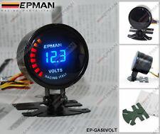"""EPMAN RACING 52mm 2"""" DIGITAL ANALOG LED VOLTAGE VOLT GAUGE METER"""