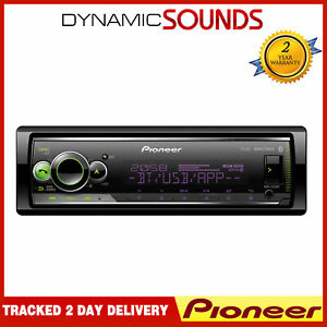 Pioneer MVH-S520BT Mechaless USB AUX Bluetooth iPhone Android Stereo Spotify