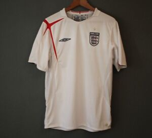 Details About Football Jersey National Jersey England Umbro Original Size Size L Show Original Title