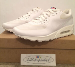 09cae3a50316 NIKE AIR MAX 90 HYPERFUSE USA WHITE Sz US12 UK11 QS 613841-110 ...