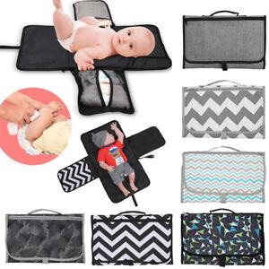 2018-Baby-Portable-Folding-Diaper-Travel-Changing-Pad-Waterproof-Mat-Bag-Storage