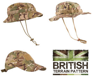 7085a41e US & British Army Military Jungle Boonie Sun Bush Hat Surplus Combat ...