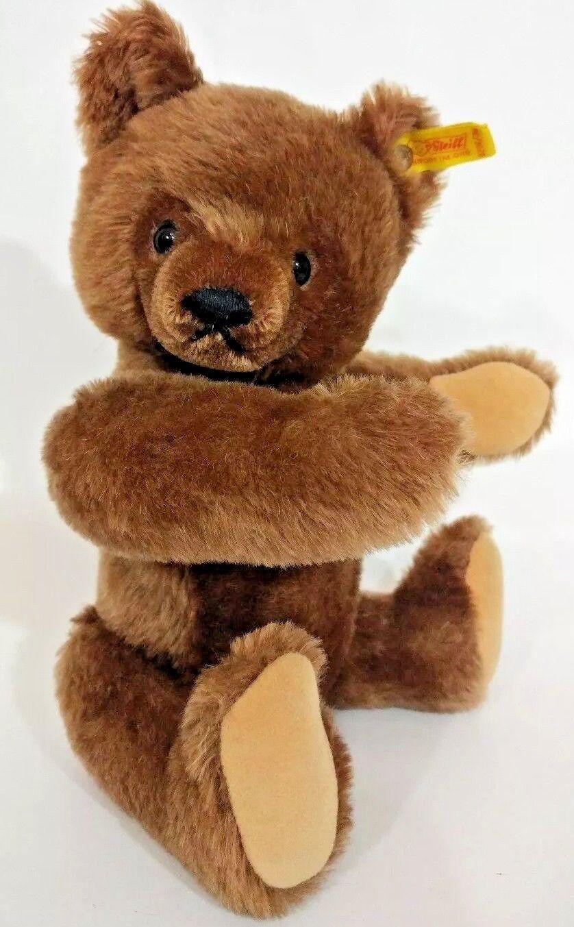 Steiff Original Teddy Teddy Teddy gituttio Tag 0206 36 13  Marroneee Jointed orso West Geruomoy 3ab12a