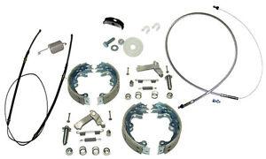 1967-82 Corvette Emergency Parking Brake Deluxe Kit Stainless Steel