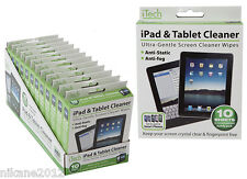 i pad tablet cleaning wipes computer anti static fog i phone new quality
