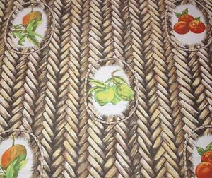 Tropical Fabrics Amp Wallcoverings Palm Tree Fruit Linen