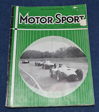 Motor Sport October 1956 Prescott, GP of Caen, Goodwood