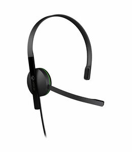 Microsoft Xbox One Chat Black Headband Headsets for Microsoft Xbox One