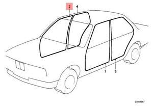 genuine bmw edge protection right m3 e30 316 316i 318i 318is 1990 BMW 325E image is loading genuine bmw edge protection right m3 e30 316