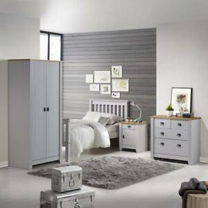Grey Or White With Oak Bedroom Living Room Occasional And Dining