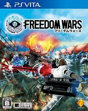PSV PS VITA FREEDOM WARS Japan Import Official Free Shipping F/S