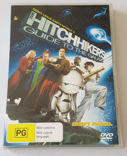1 of 1 - The Hitchhiker's Guide To The Galaxy DVD, 2005 (#DVD01462)