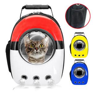 Haustier-Rucksack-fuer-Katzen-Hunde-Tragetasche-Transportbox-Hunderucksacktasche