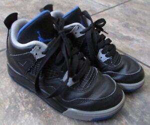 731a2f65eb1ac Nike Air Jordan IV 4 Retro Black 308499-006 Sz 13C Child Toddler | eBay