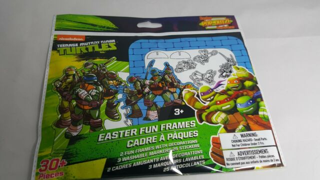 Teenage Mutant Ninja Turtles Easter Fun Frames Ages 3 TMNT
