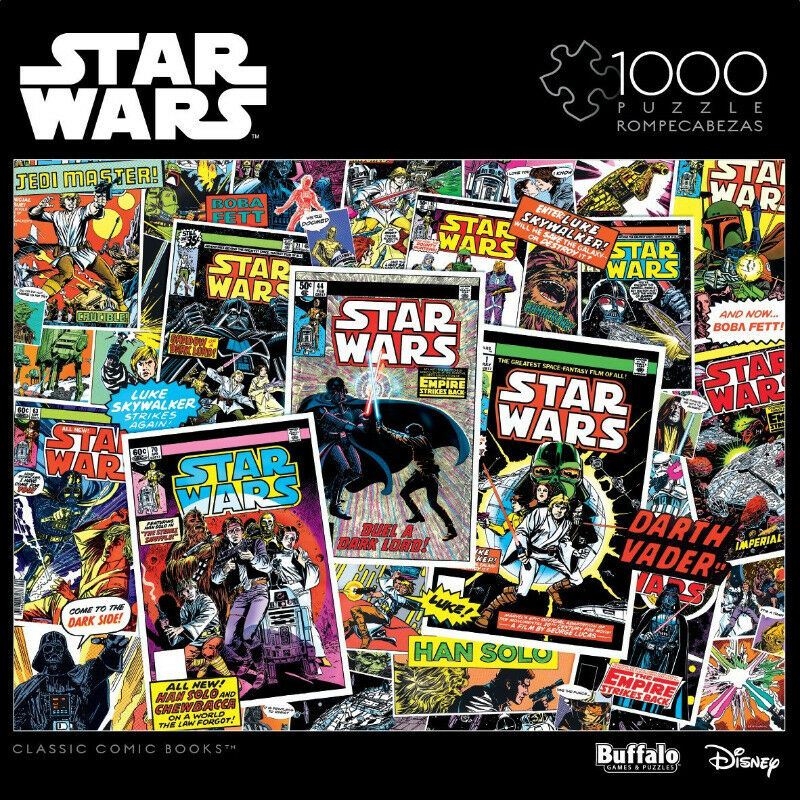 Star Wars: Classic Comic Books - 1000 Piece Jigsaw Puzzle (new)