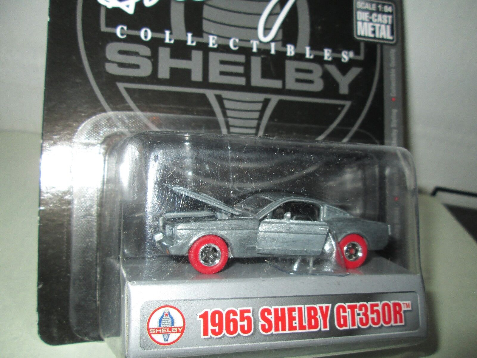 SHELBY COLLECTIBLES 1 64  RED WHEEL WHEEL WHEEL 1965 SHELBY GT350R  RAW CHASE 84fd20