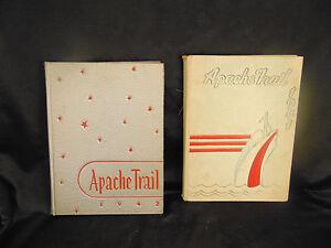High school yearbooks 1941 1942 Apache Trail Vallejo Senior High School Californ