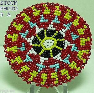 3-inch-Beaded-Rosette-bead-beadwork-craft-5-A
