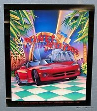 Dodge Viper 4th Invitational Planet Hollywood Poster