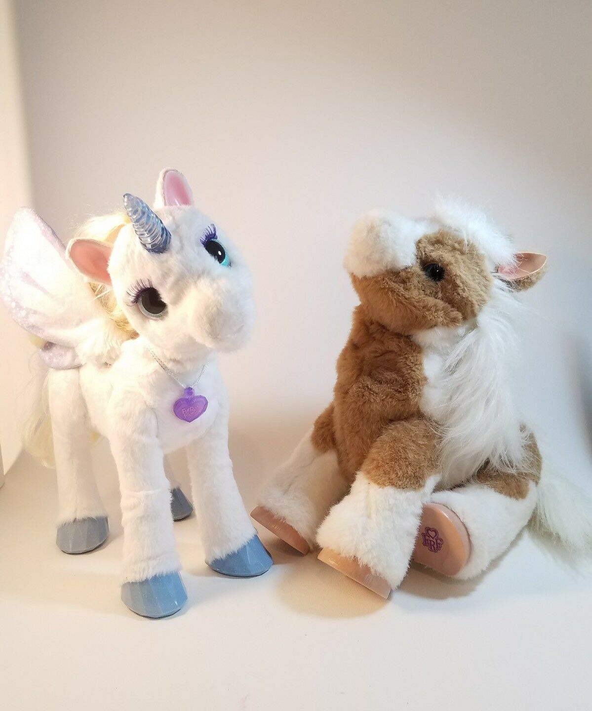 BUNDLE FurReal Friends Starlily My Magical Unicorn & Baby Butterscotch Pony
