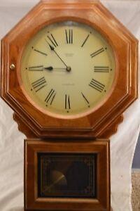 Verichron Quartz Westminster School House Wall Clock