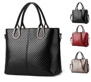 Women-Genuine-Leather-Handbag-Shoulder-Bags-Tote-Purse-Messenger-Hobo-Satchel-Ba