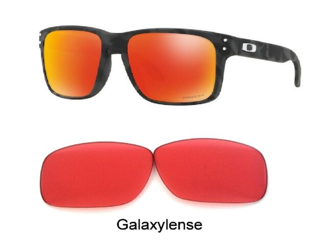63f29bfe400 Galaxy Replacement Lenses For Oakley Holbrook Sunglasses Prizm Ruby Golf