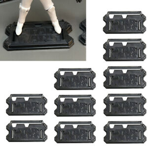 LOT 10 Star Wars Stand Base Display For 3.75'' Clone Trooper Figure Accessories