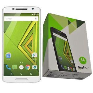 NUOVO-5-5-034-MOTOROLA-MOTO-X-Play-XT1562-16GB-Bianco-Sbloccato-Di-Fabbrica-4G-LTE-SIMFREE