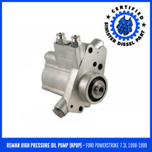 Sinister Diesel Reman High Pressure Oil Pump for 1998-1999 ...