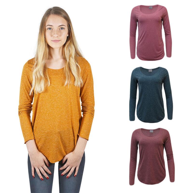 SchöN Vero Moda Damen Long Top Langarmshirt Longsleeve T-shirt Oberteil 34 36 38 40 42 Modische Und Attraktive Pakete