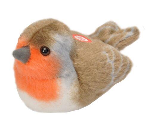 Wild Republic 19490 13-16 CM robin AVEC véritable oiseau appels Plush Toy