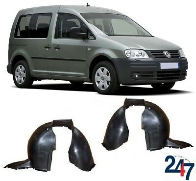 NEW VOLKSWAGEN CADDY 2004-2010 FRONT WHEEL ARCH INNER COVER LEFT RIGHT PAIR