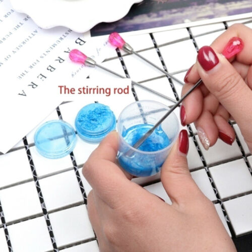 3Pcs Jewelry Making Tools Muddler Poke Needle Spoon For Silicone Resin Mold BH