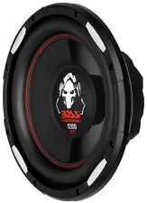 "New Boss P100F 10"" 1200 Watt Car Shallow/Slim Subwoofer Power Sub Woofer Audio"