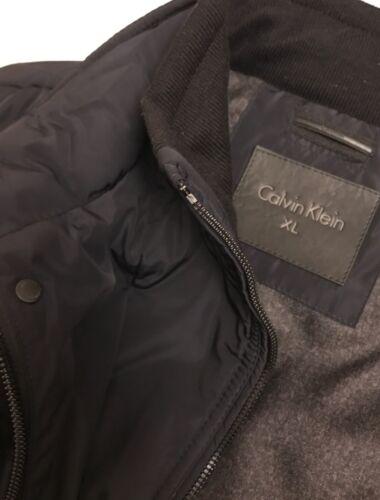 Nwt zwarte jas 889609054993 Klein jas msrp250 gewatteerde ~ Xxl heren Calvin opstaande kraag QWxeCBodr