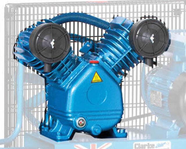 Latest CLARKE AIR COMPRESSOR ALUMINIUM BARE PUMP 3HP 14CFM NH3AP 1393302
