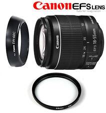 Canon EF-S 18-55 mm f/3.5-5.6 IS II + FILTRO UV 58MM + PARALUCE EW-60C SPED.OGGI