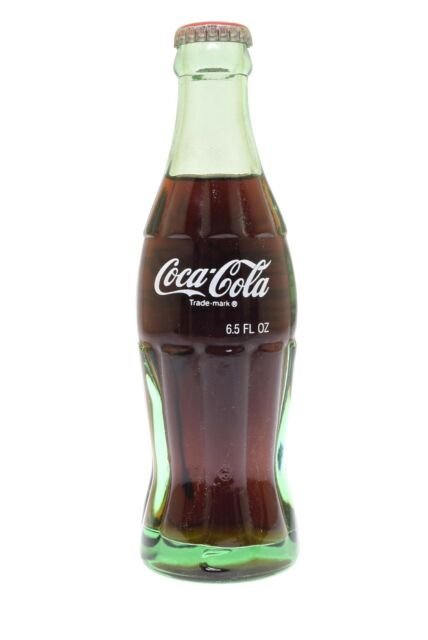 Pick Your Country Coca Cola 1990 Around the World 6.5oz Unopened Green Bottles